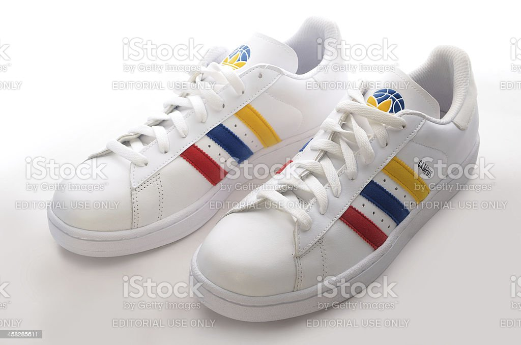 Adidas Campus sneaker stock photo