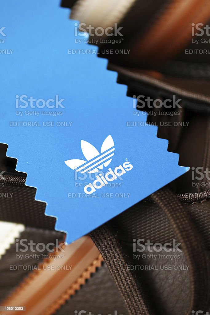 Adidas Footwear stock photo