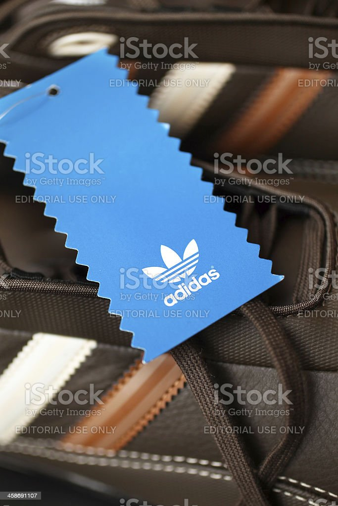Adidas Footwear stock photo