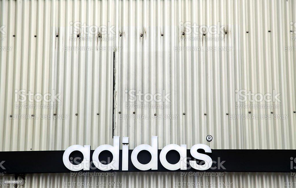 Adidas Grunge stock photo