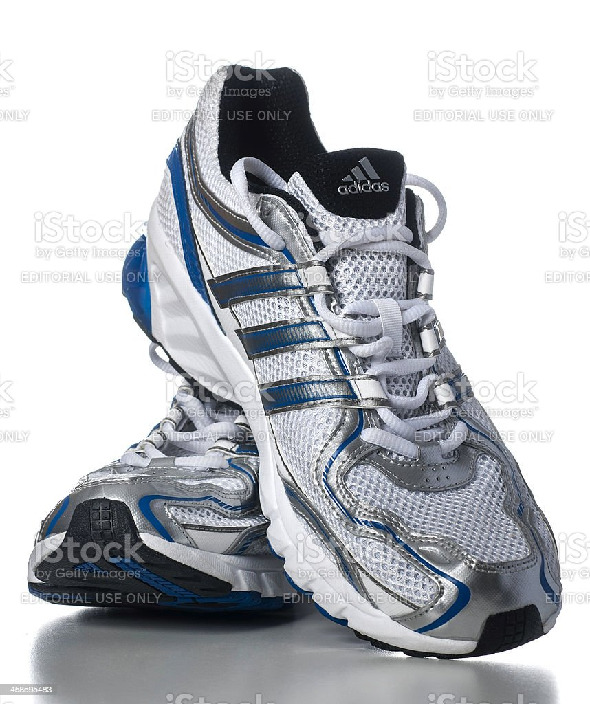 Adidas Mens Galaxy Running Shoes Stock Photo - Download Image Now