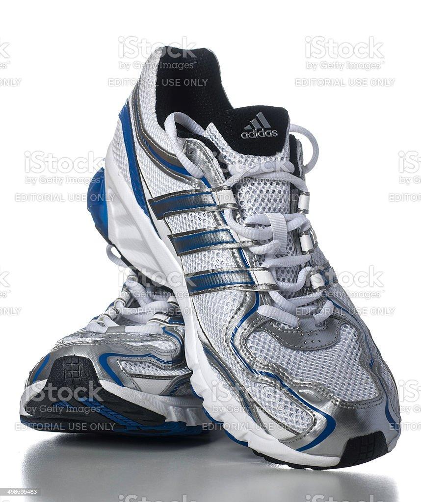 Adidas Men's Galaxy Running Shoes stock photo
