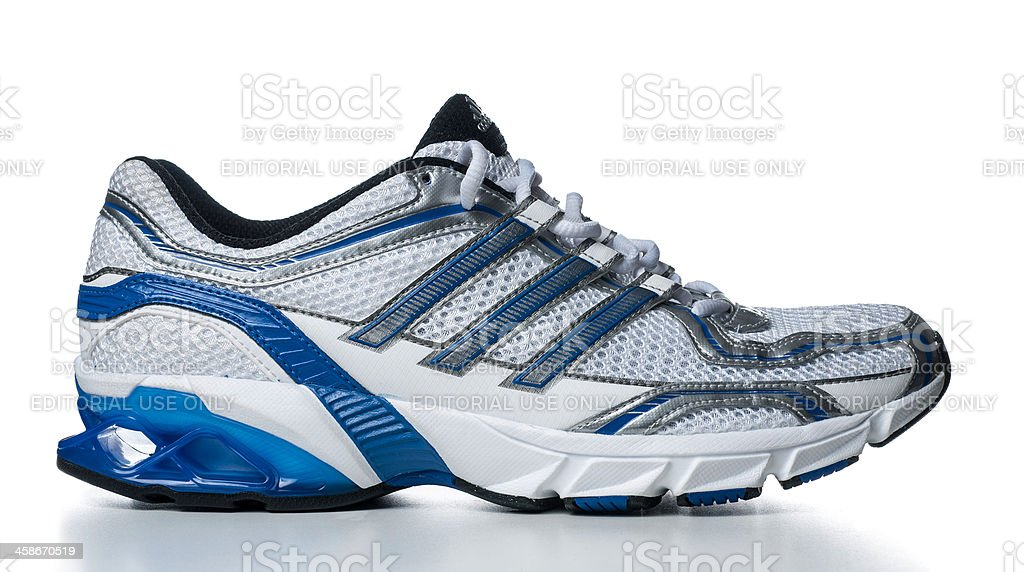 Adidas Men's Galaxy Running Sport Shoe stock photo
