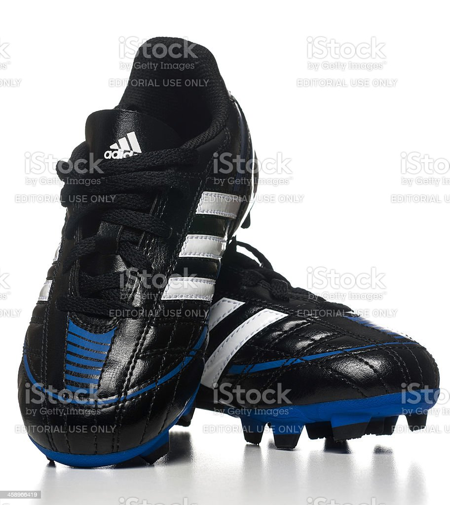 0e534fc96 Adidas Puntero Soccer Kid Shoes Stock Photo   More Pictures of ...