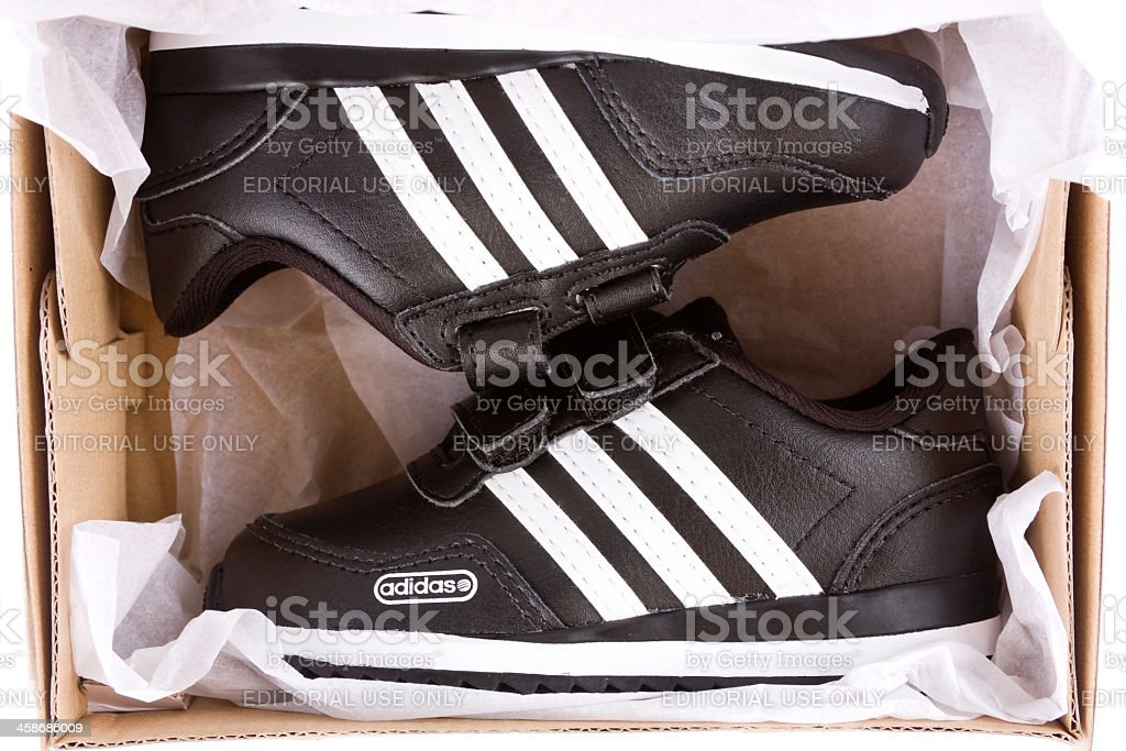 Adidas shoes stock photo