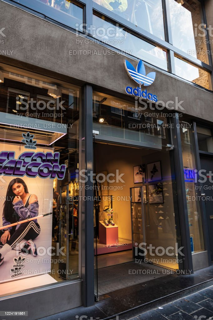 Adidas Sports Store In Amsterdam Netherlands Stock Photo Download Image Now Istock