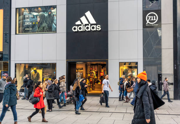 Adidas-Filiale in Frankfurt – Foto