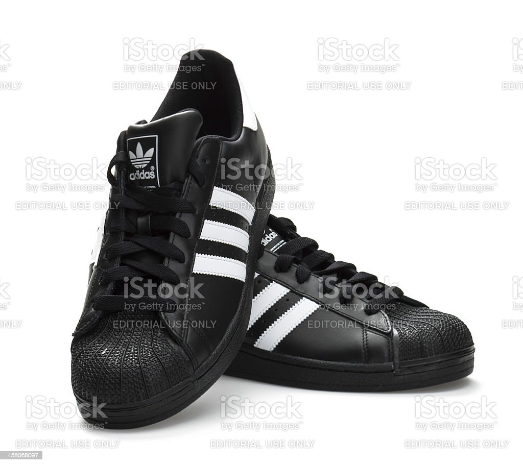 Adidas Superstar stock photo