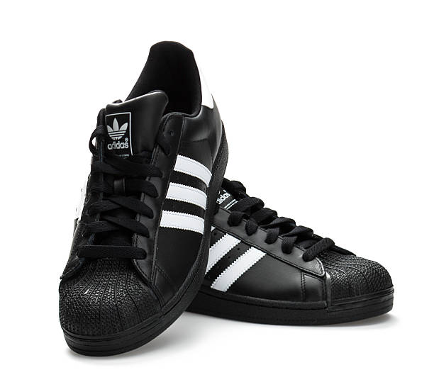 Adidas Superstar stock photo
