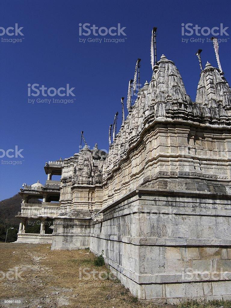 Adinath Temple royalty-free stock photo