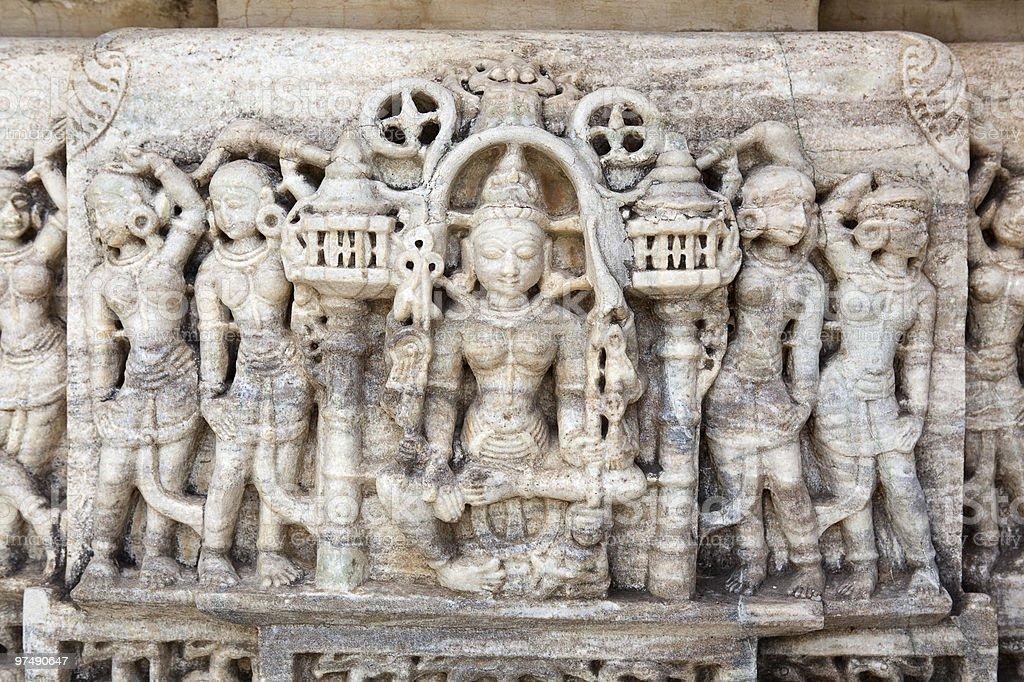 Adinath Temple_India royalty-free stock photo