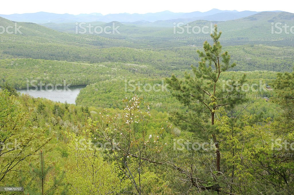 Adirondack Mountains Scenery stock photo