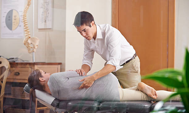 adjust your health - chiropractic care stock photos and pictures