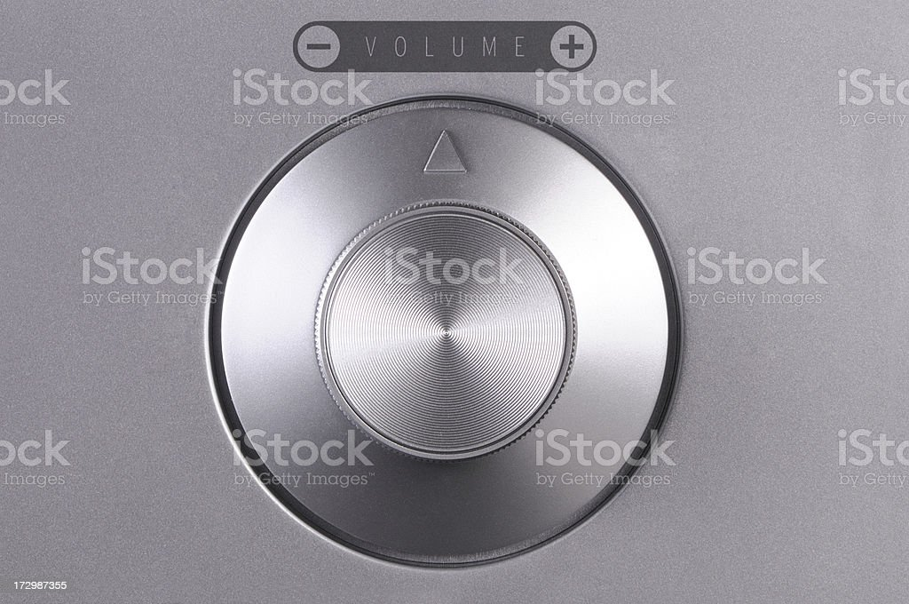 Adjustment button stock photo