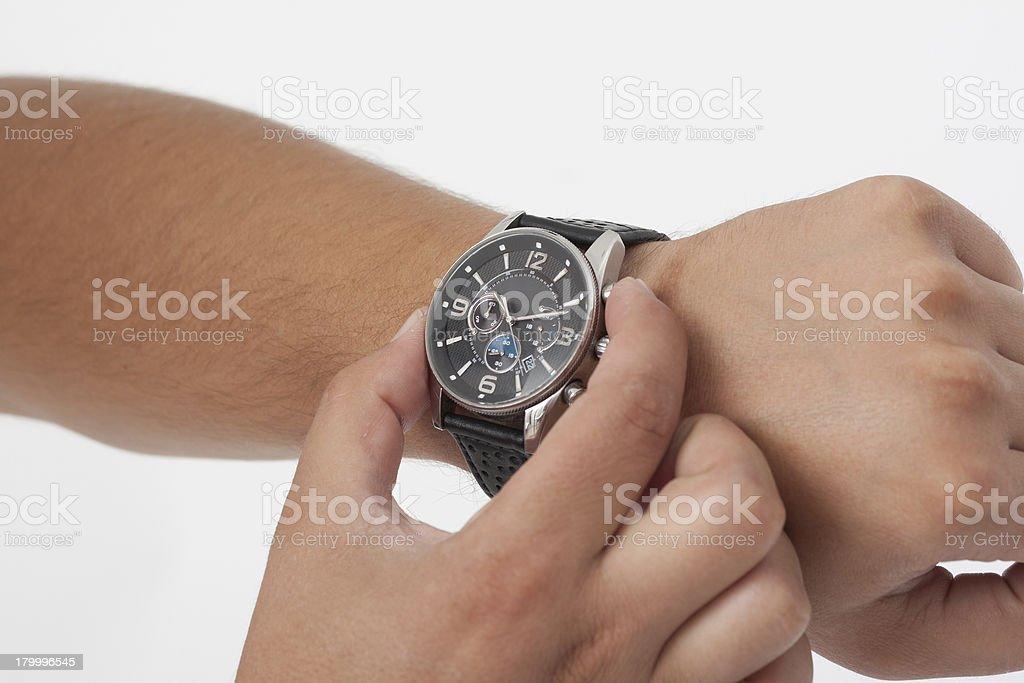조정 시계 royalty-free 스톡 사진