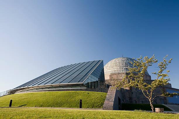 Adler Planetarium, Chicago stock photo