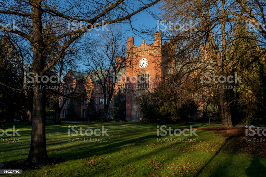 Administration Building On The University Of Idaho Campus Royalty Free  Stock Photo