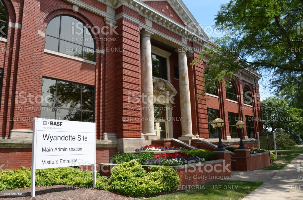 BASF-Verwaltungsgebäude – Foto