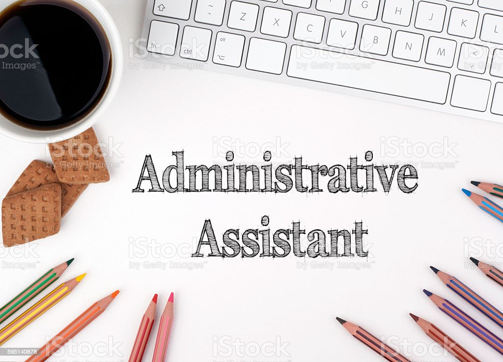 Administrative Assistant stock photo