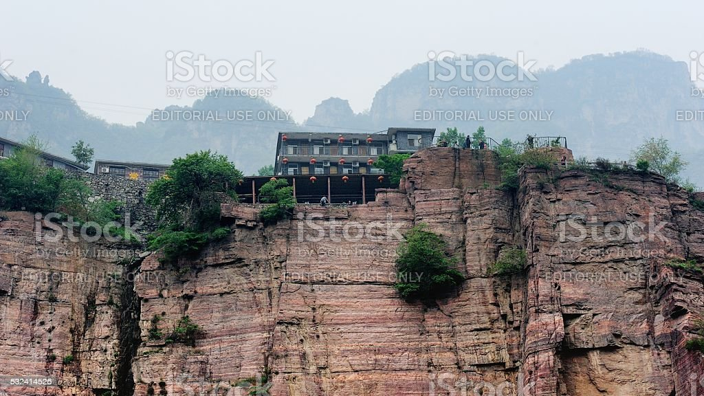 Admirable village in The Southern Taihang mountains 003 stock photo