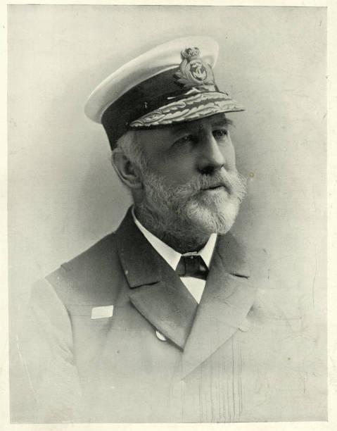 Admiral Sir William Robert Kennedy, Victorian Royal Navy officer stock photo