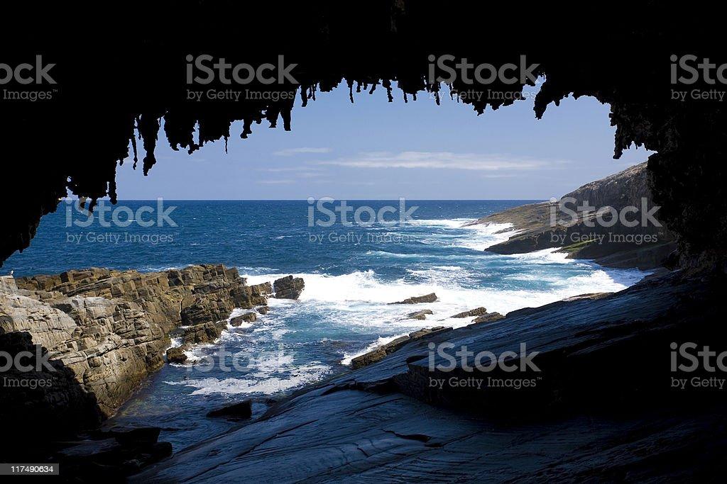 Admiral's arch, Kangaroo Island, Australia stock photo