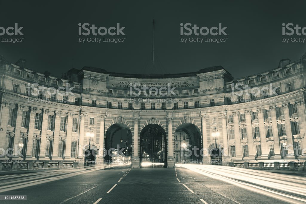 Admiralty Arch London stock photo