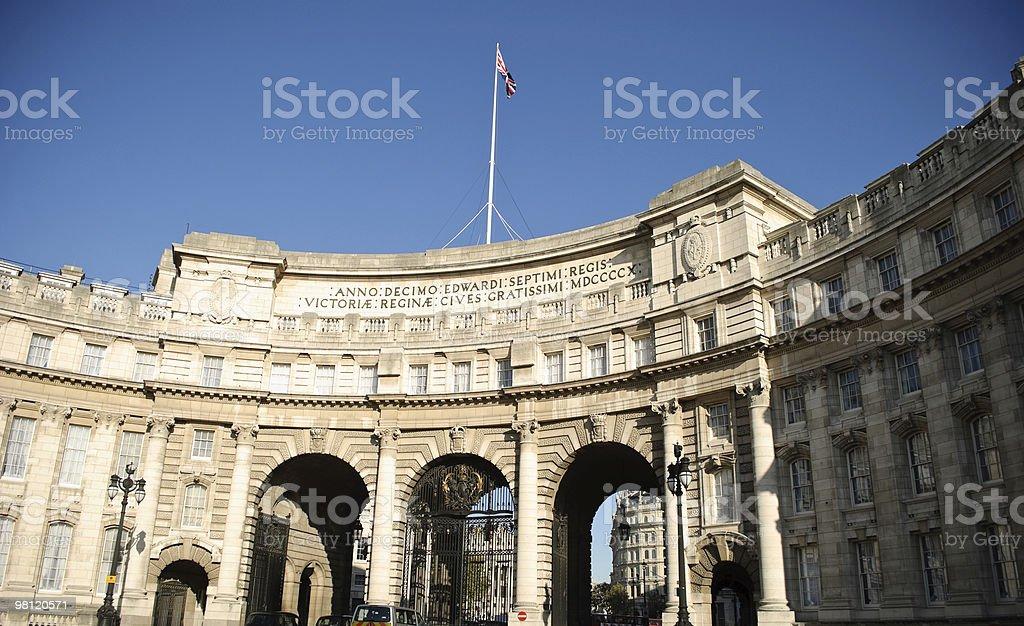 Ammiragliato Arch, Londra foto stock royalty-free
