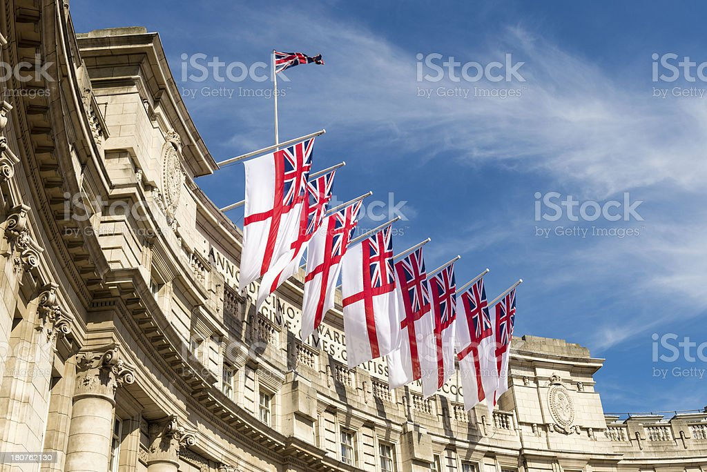 Admiralty Arch, The Mall, London, England royalty-free stock photo