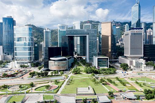 istock Admiralty District, Hong Kong 1162507914