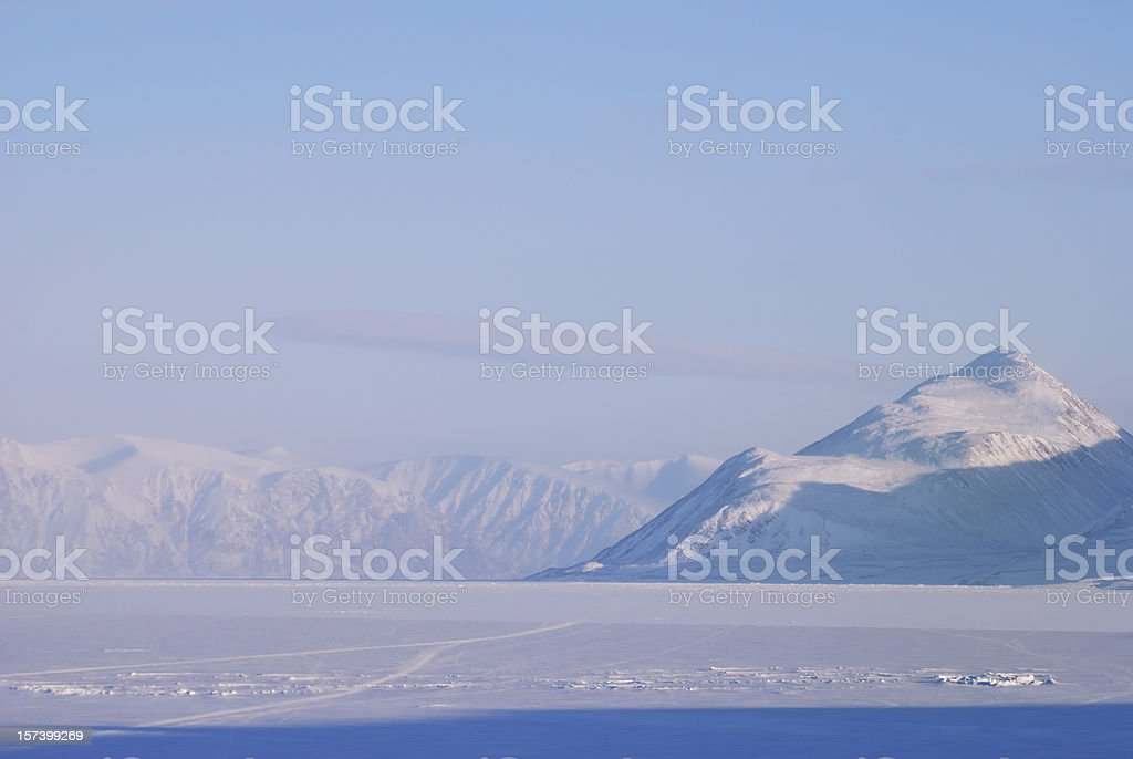 Admiralty Inlet, Baffin Island. stock photo