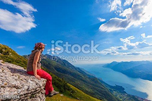 istock Admiring Lake Garda 174072214