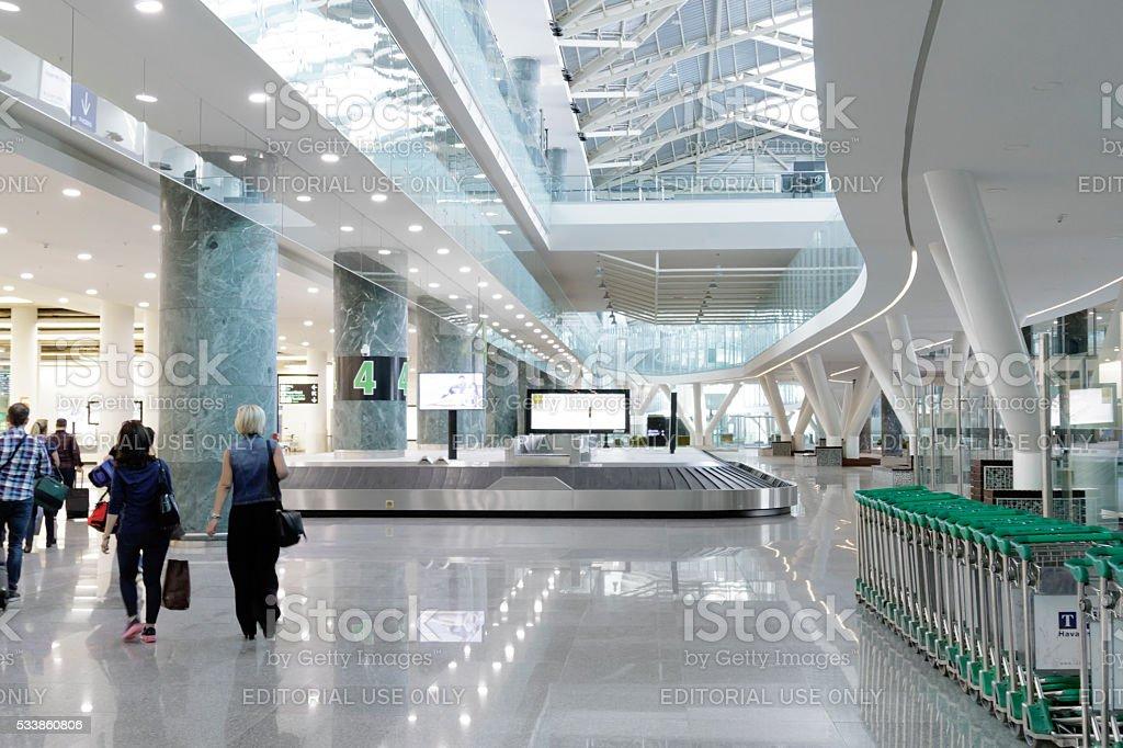 Adnan Menderes airport ( Izmir,Turkey) stok fotoğrafı