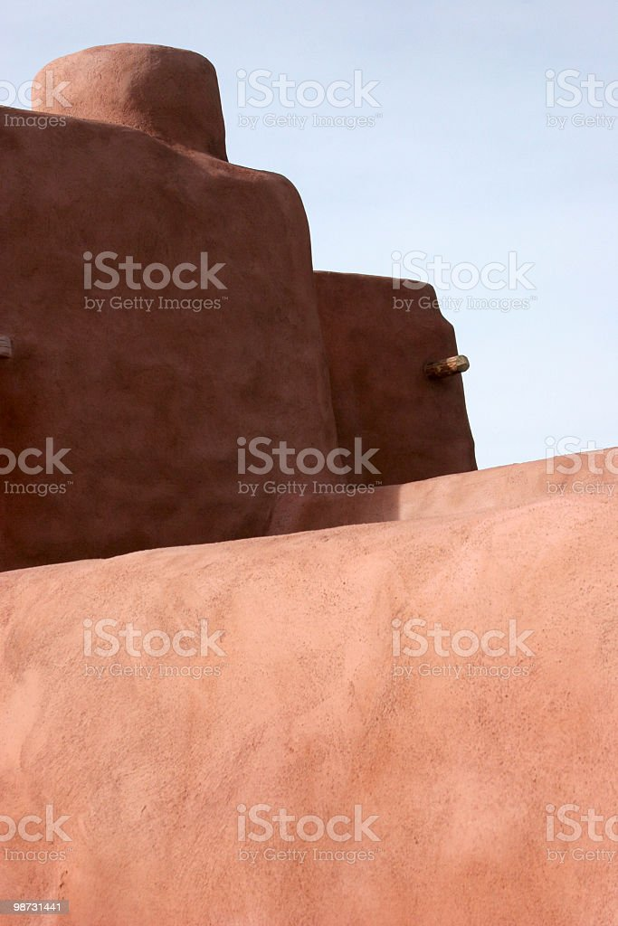 Adobe Building royalty-free stock photo