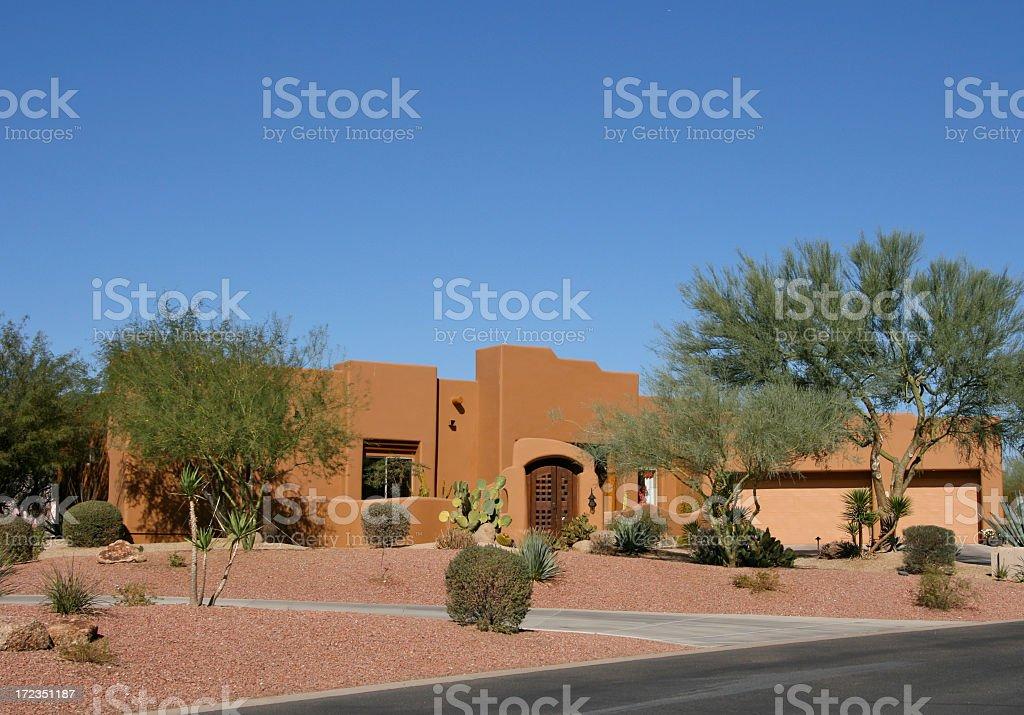 Adobe Model Home stock photo