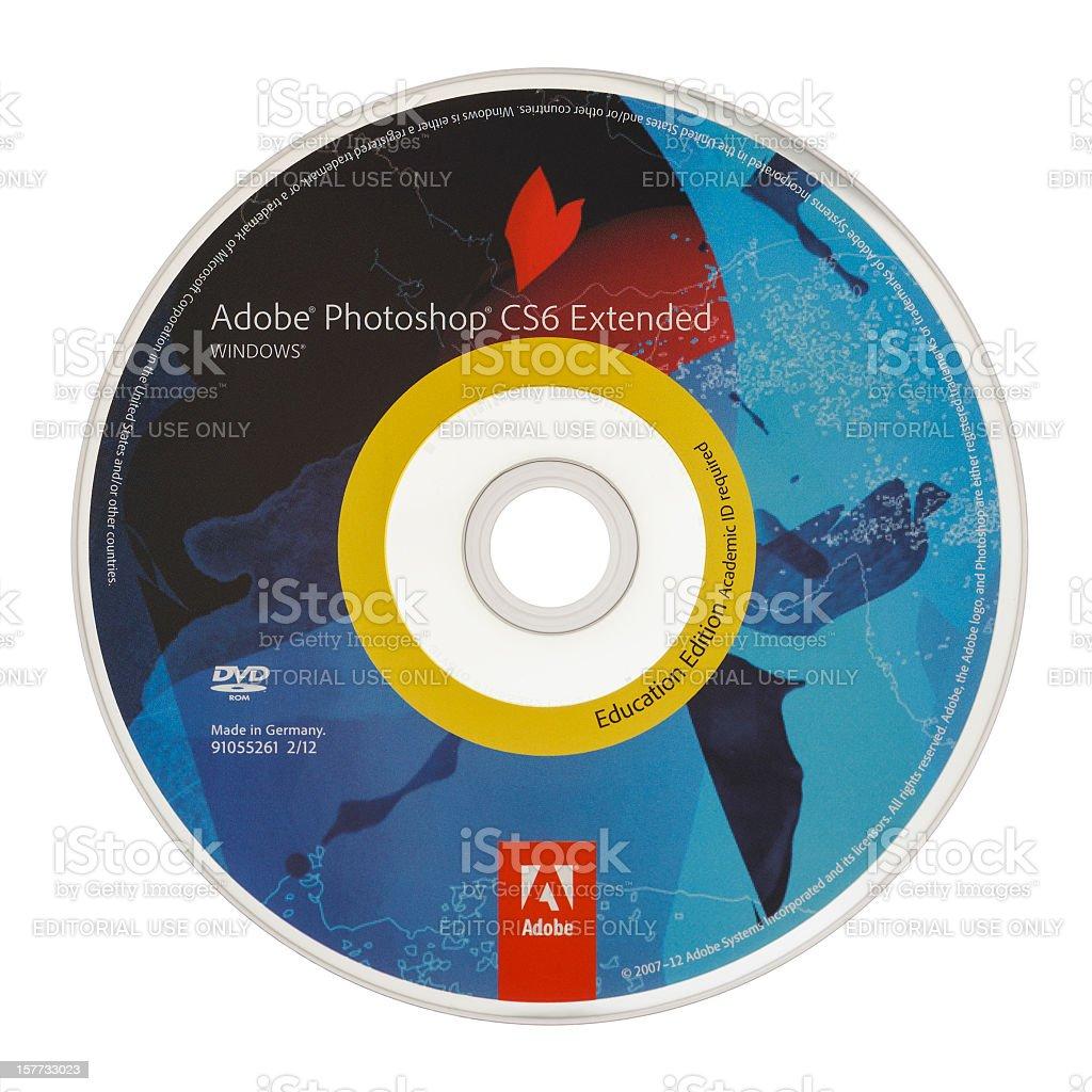 Adobe Photoshop Cs6 Dvd Stock Photo - Download Image Now - iStock