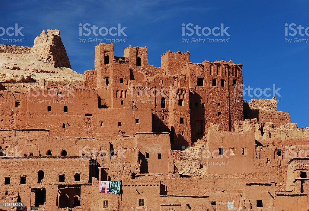 Adobe Village in Morocco royalty-free stock photo