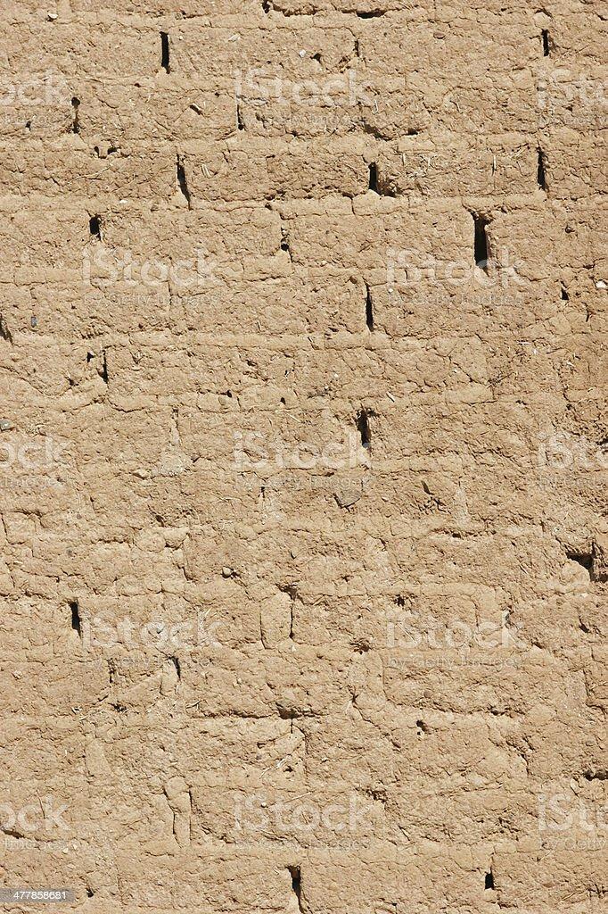 Adobe Wall background royalty-free stock photo