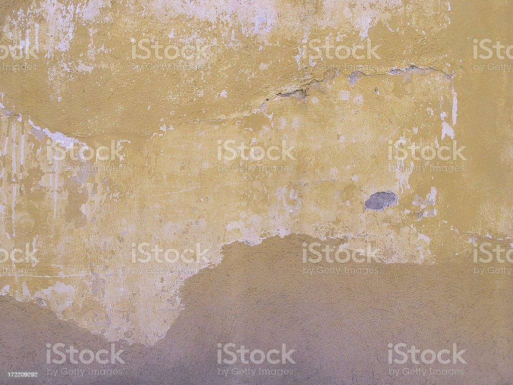 Adobe Wall, Mexico royalty-free stock photo