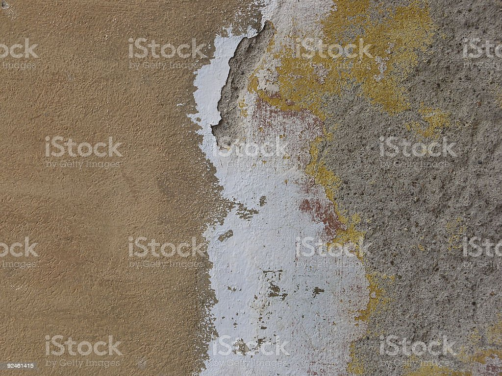 Adobe Wall, Mexico royalty-free stock photo