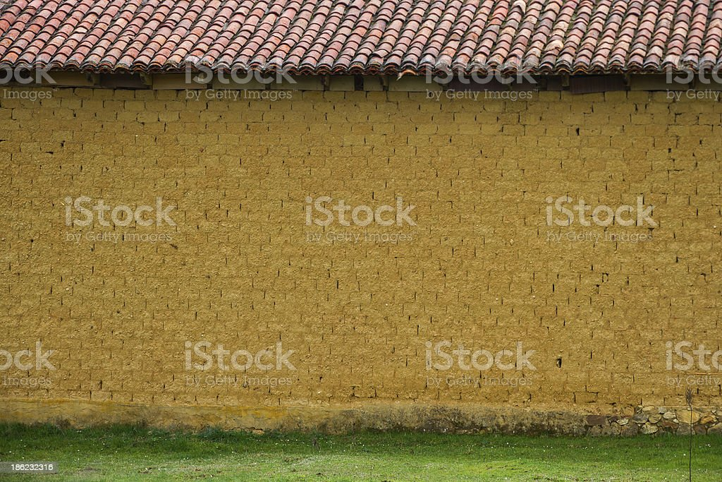 Adobe Wall - Pared de barro royalty-free stock photo