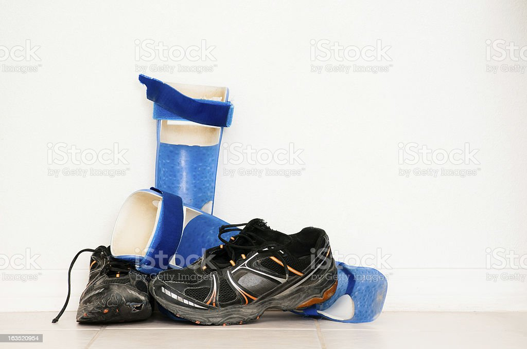 Adolescent Orthopedic Equipment royalty-free stock photo
