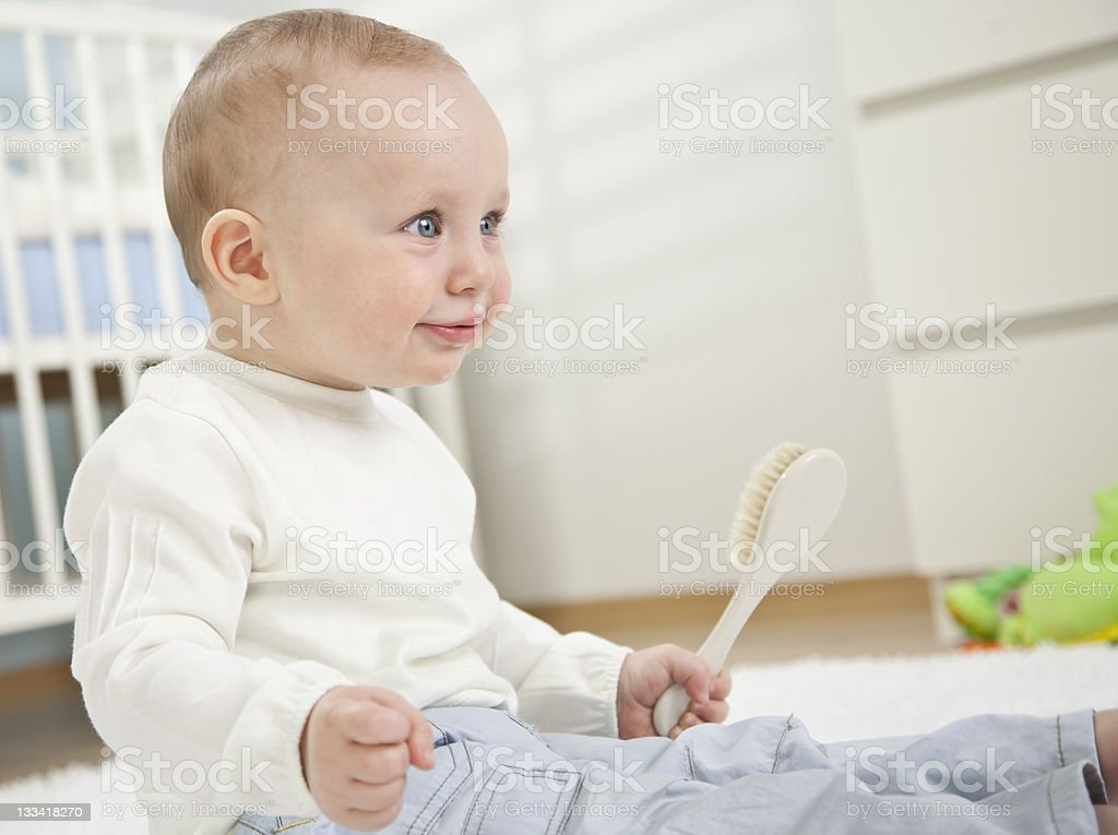 Adorable Baby Boy royalty-free stock photo