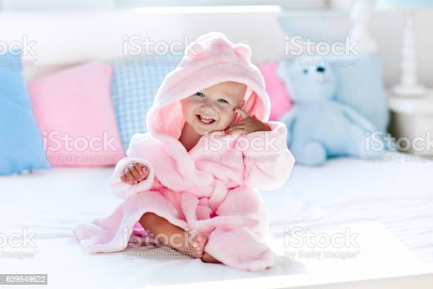 Adorable baby in bathrobe or towel after bath picture id639949622?b=1&k=6&m=639949622&s=612x612&h=d4t3afo5ftzwdv1mekhyrpp7whcbk1zecydn2gs4e8q=