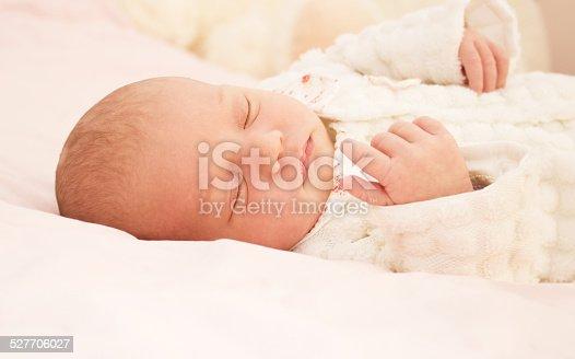 istock Adorable baby newborn 527706027