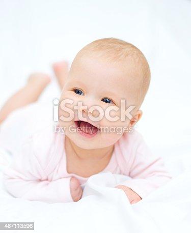 istock Adorable baby 467113596