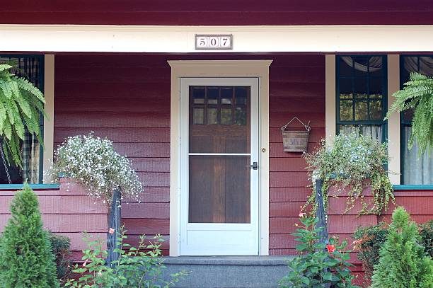 Adorable Front Porch stock photo