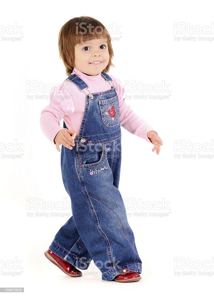Adorable girl royalty-free stock photo