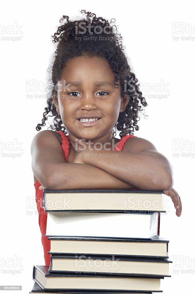 adorable girl student royalty-free stock photo