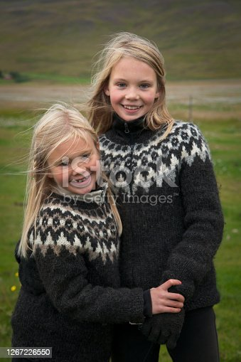 istock Adorable Icelandic sisters 1267226550